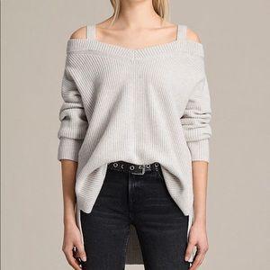 All Saints Dasha V-Neck Sweater